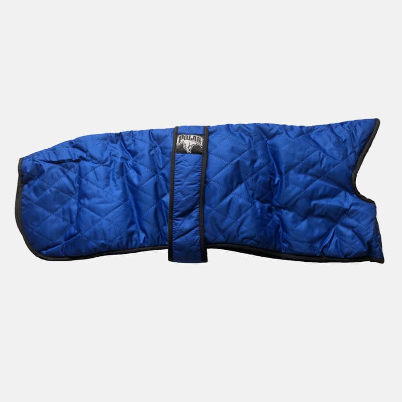 Polar Brand Warm Winter Coat Quilted Blue