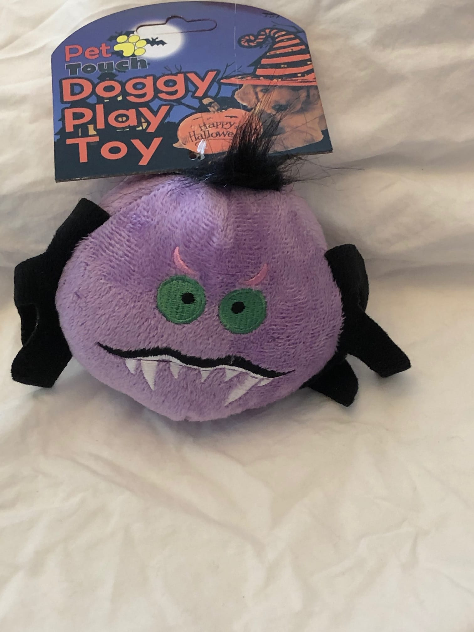 Purple monster toy