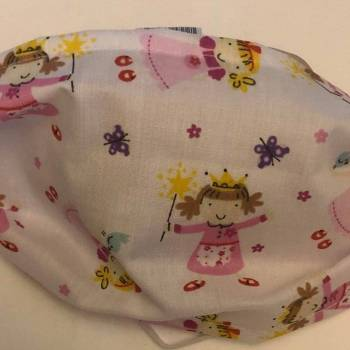 Cotton 'Princess Design' Face Mask