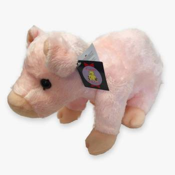 Plush Pig Soft Toy by Dowman
