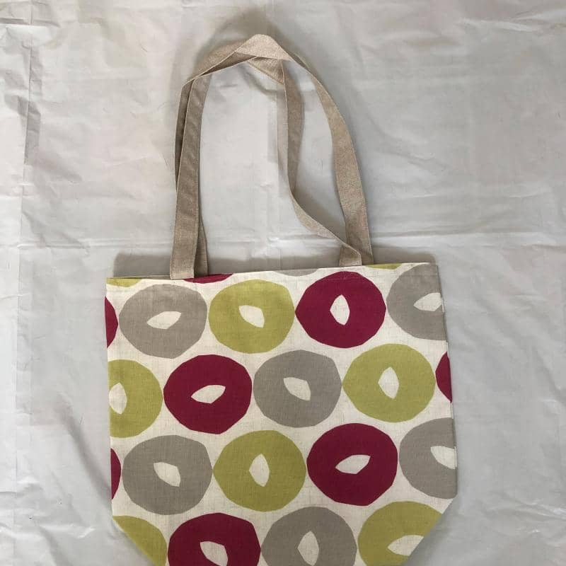 Cotton Tote Bag - Circle design