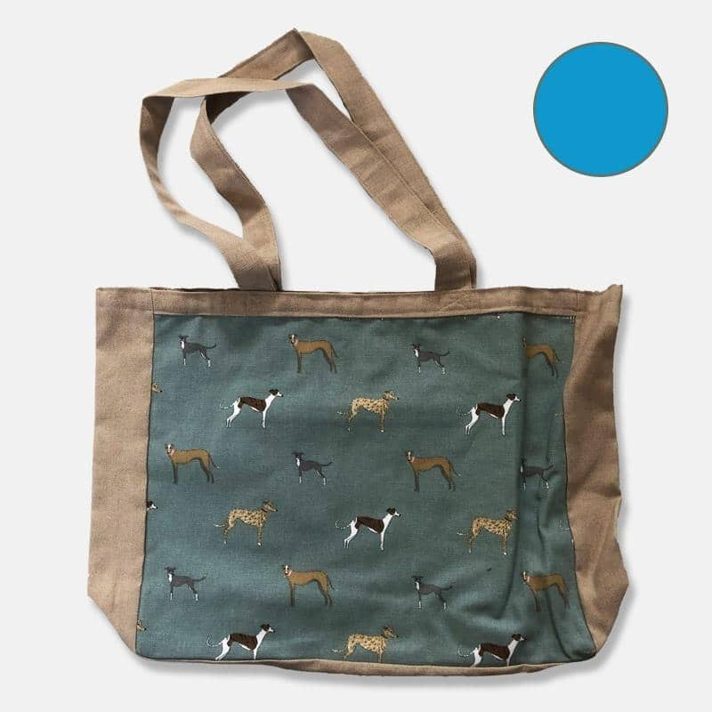 Greyhound Panel Tote Bag