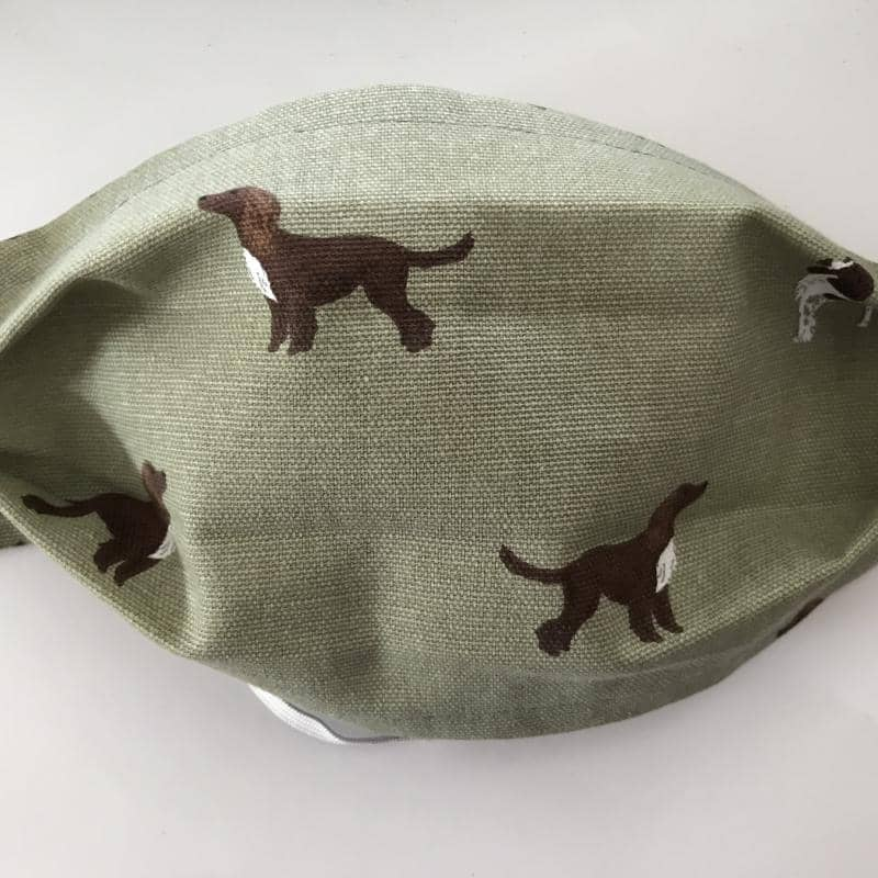 Spaniel Design Face Mask